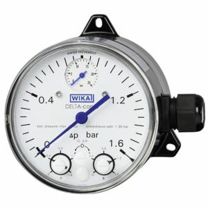 manómetro diferencial wika