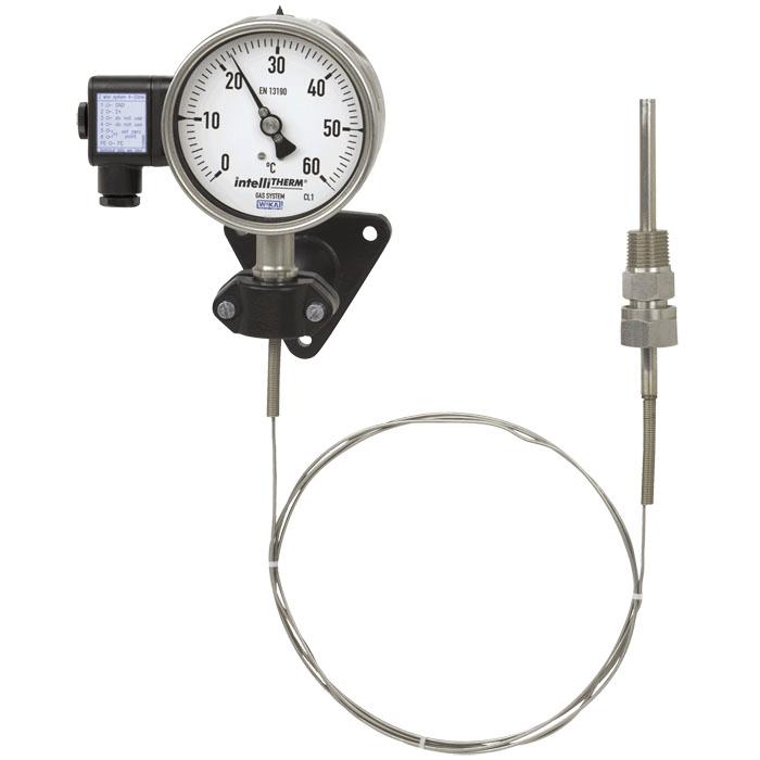 termómetro de gas wika